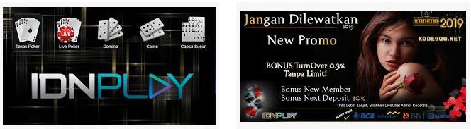 Bonus IDN Live Poker Online